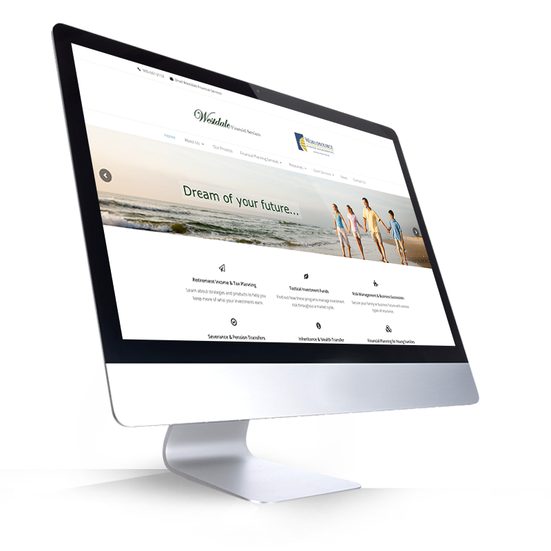 Westdale Financial Services - Website - Portfolio 2